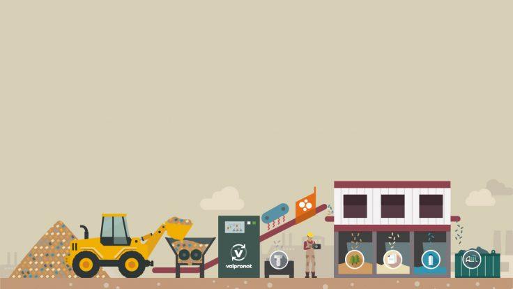 Image de l'illustration de l'offre Valpronat de valorisation des déchets